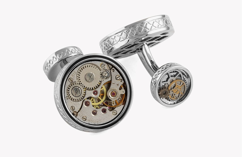 Skeleton Industrial Cufflinks - Limited Edition